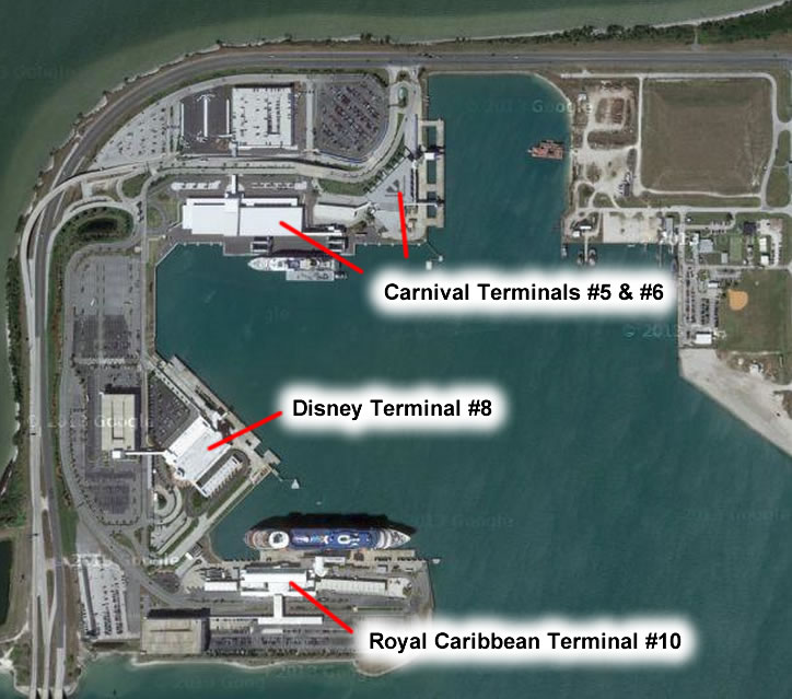 Port Canaveral Terminal 6 Question Cruise Critic Message